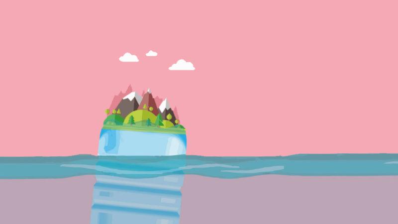 L'isola di plastica